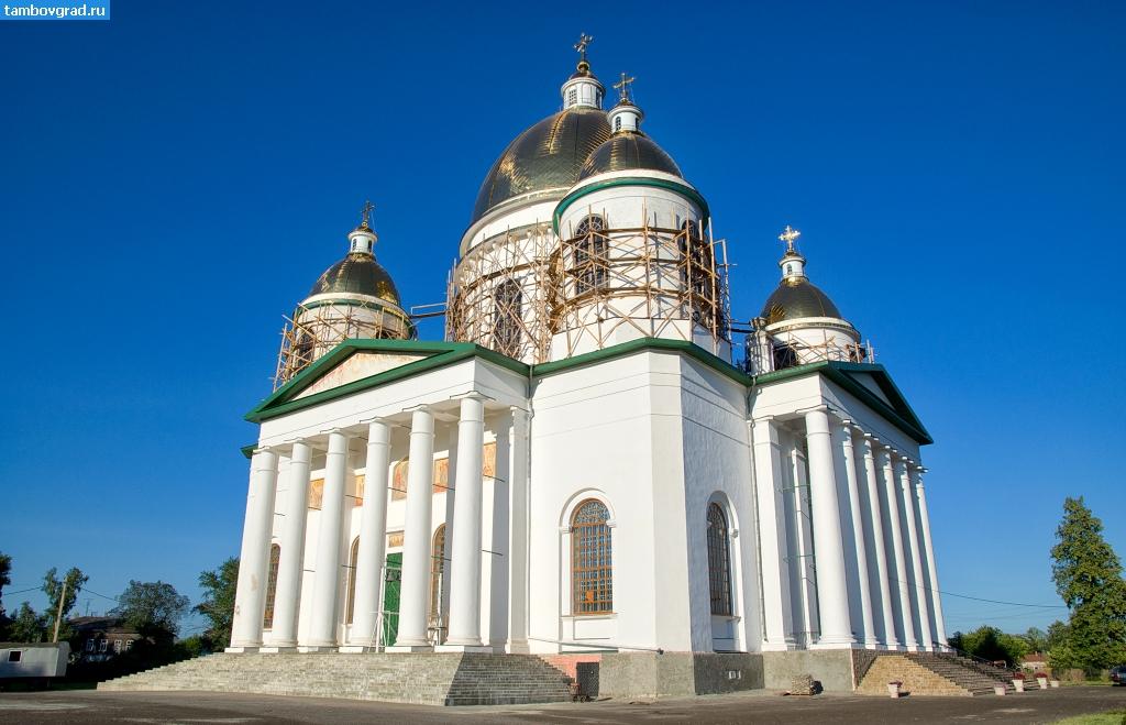 Троицкий собор моршанск картинки